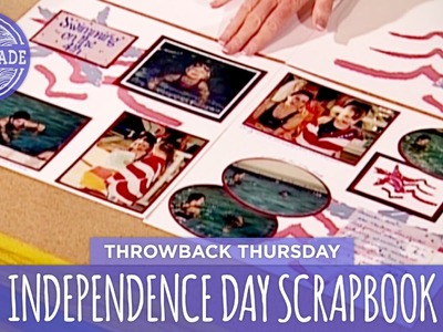 DIY Independence Day Scrapbook - Throwback Thursday - HGTV Handmade