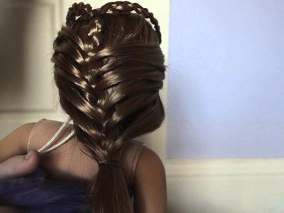 DIY Mermaid tutorial- Dolloween Costume