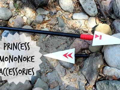 DIY MONONOKE ACCESSORIES  ❤ COSPLAY TUTORIAL
