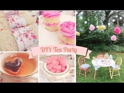 DIY Tea Party With Emelyne