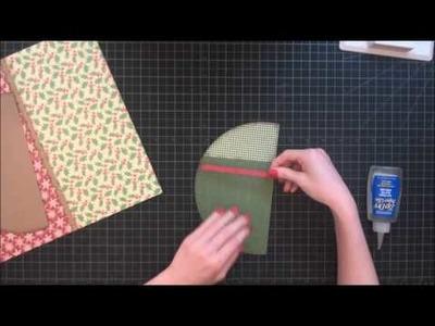 Faith Abigail Designs - Mr  Jingles Scrapbook Layout Tutorial