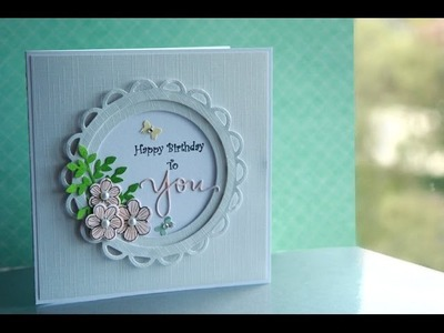 Happy Birthday to You card tutorial