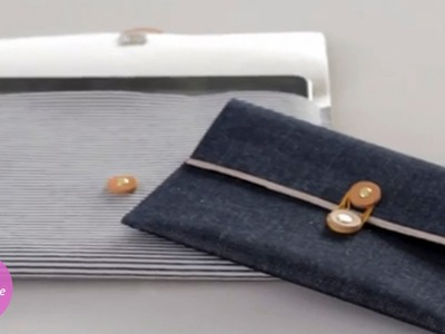Homemade Denim Tech Sleeve - DIY Style - Martha Stewart