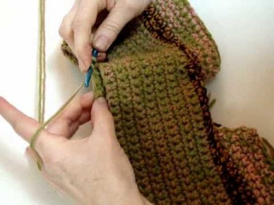 How to Crochet a Diaper Cover - Waist 5 of 7