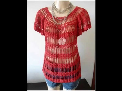 How to Crochet Blouse very easy Free Pattern