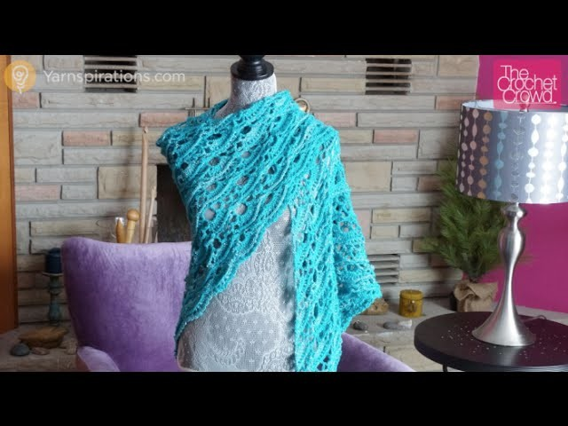 How to Crochet Yes, Yes Shawl