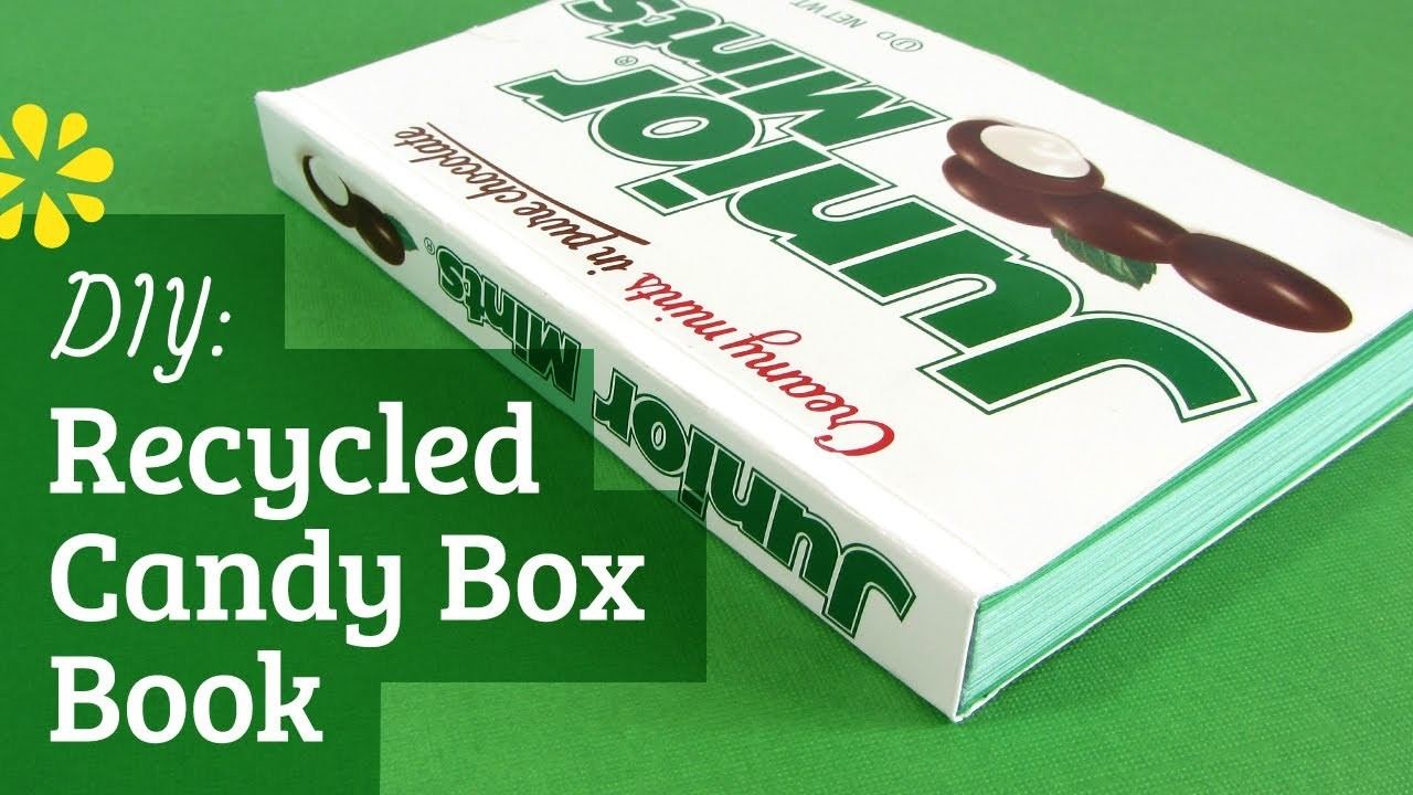How to Make a Book: Softcover Recycled Box