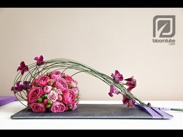How to make a flower arrangement. Bloomtube DIY