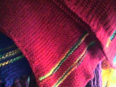 How to make a mexican poncho intro at knitandcrochettogether