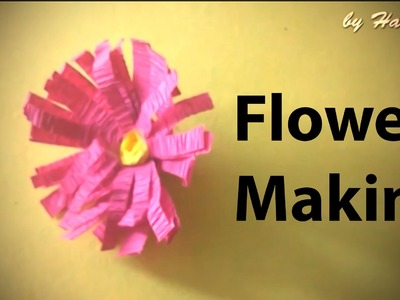 How to make beautiful paper flowers. Arts & Crafts