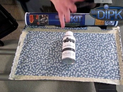 How to use MyDipKit Part 1 - How to prepare hydrographic film diy