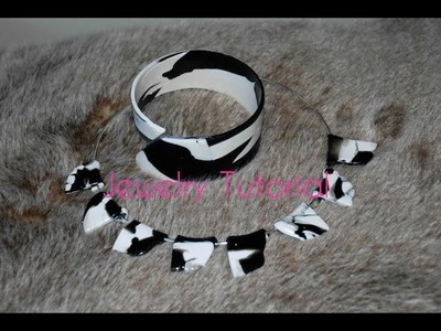 Jewelry Making Tutorial, Necklace and Bracelet