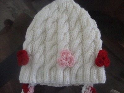 Knit Baby hats. caps - pattern design collection