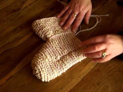Knit Slipper Socks  Seam Overview  KnitwitzUk.com 3 of 3