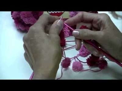 Knitting Red Heart Pomp a Doodle by Nancy Thomas