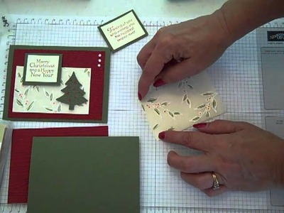 Layered Embossed Vellum Card #3 in Series