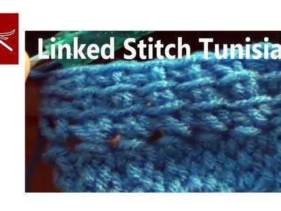 Linked Crochet Stitch - Tunisian Crochet Geek