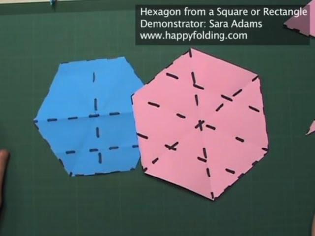 Origami Basics: Hexagon