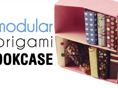 Origami Bookcase Tutorial - Modular