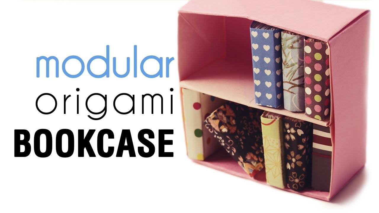 Origami Bookcase Tutorial - Modular