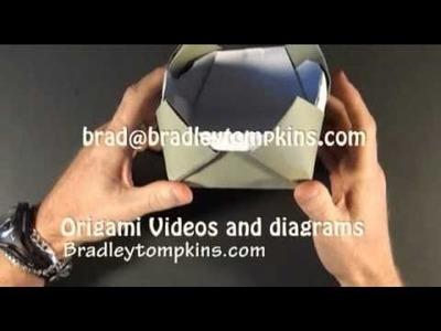 Origami Box: Turrett