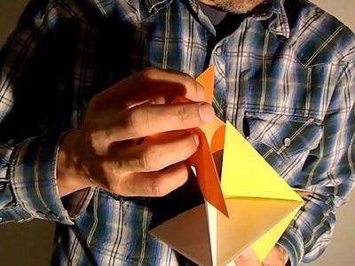 Origami Spinner Ornament