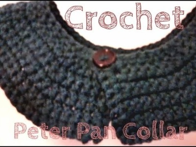 Peter Pan Collar Crochet Tutorial
