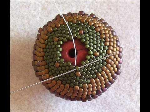 Peyote Beaded Bead - Beadwork
