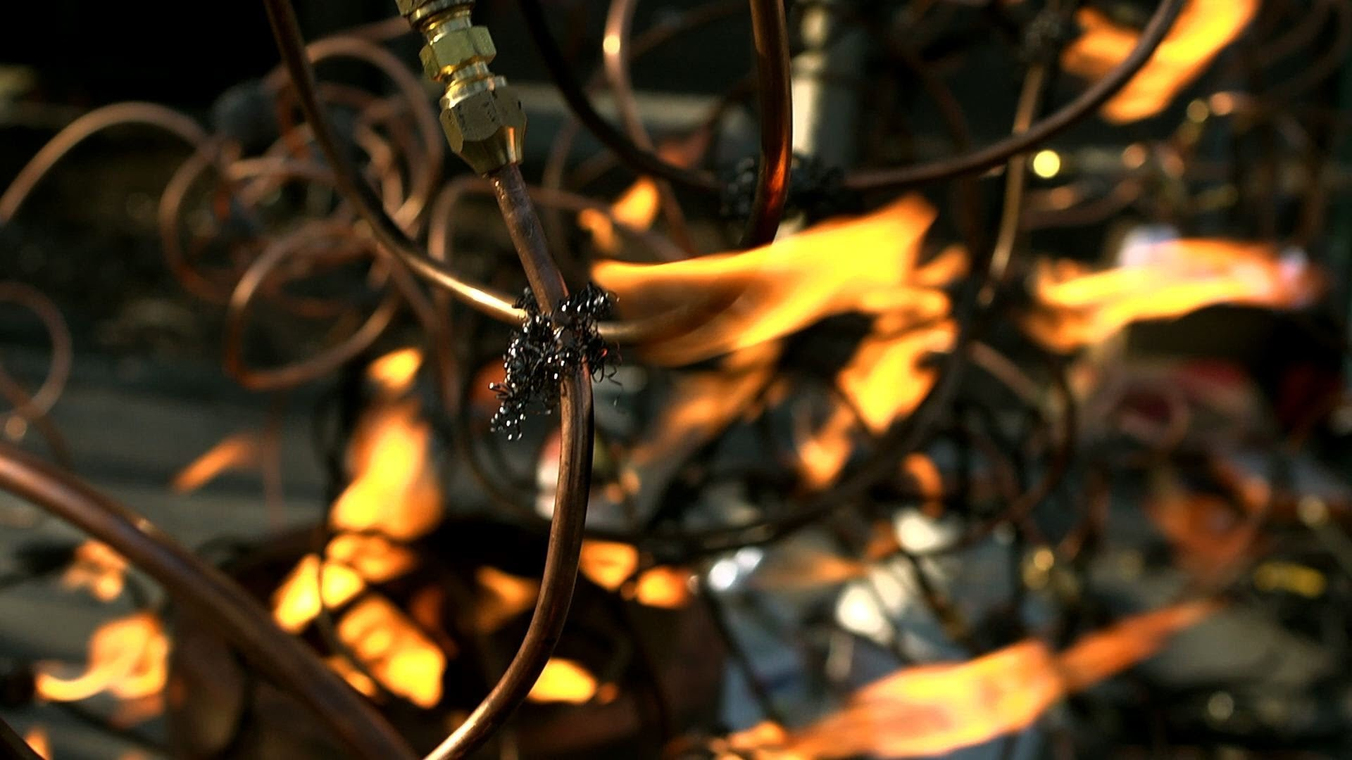 Propane Branches and Leaves of Fire: D.I.Y. Flame Tree