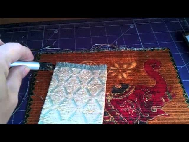 Quick little guide on how to make a rug for your dolls house