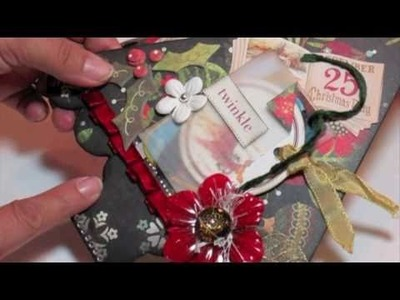 Scrapbooking Basic Grey Mini Album Gift Idea (BlueMoon DT Project) .m4v