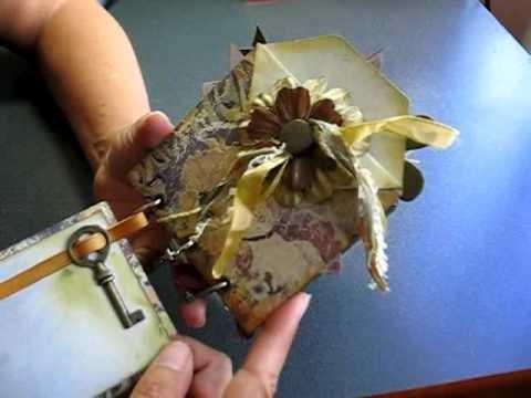 """Scrapbooking """"Envelope Pocket"""" Mini Album"""