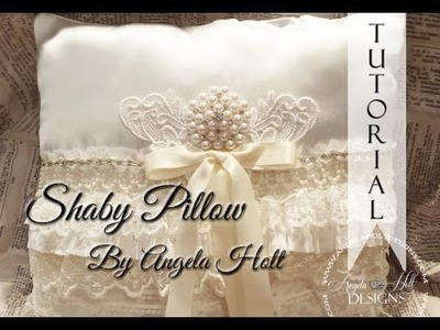Shabby Chic Lace Pillow Tutorial
