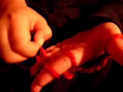 Skinny Scarves and finger knitting