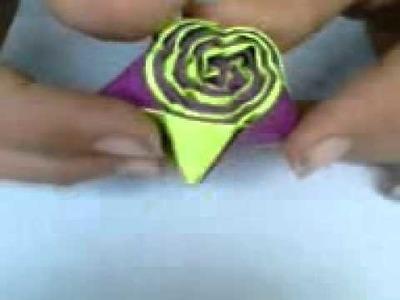 Straw star  tutorial  by (origami yo yo)