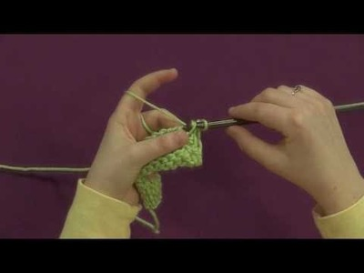 Tunisian Bind Off: Slip Stitch