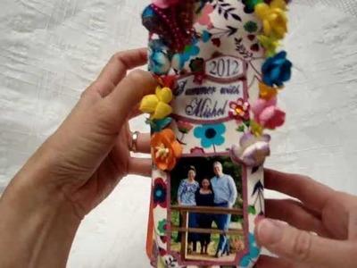 Wild Orchid Crafts - Design Team Project - Flip Flop Mini Book