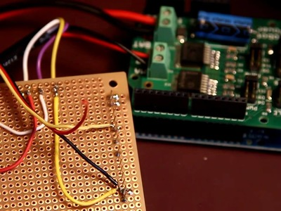 Wiring up RC receiver and POT to Arduino via DIY Shield