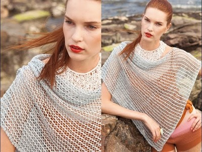 #11 Lace Cover-Up, Vogue Knitting Spring.Summer 2011