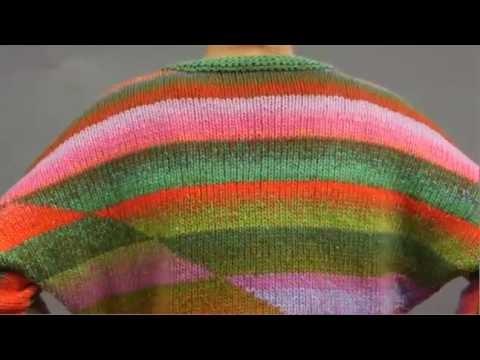 #4 Dolman Pullover, Vogue Knitting Holiday 2009