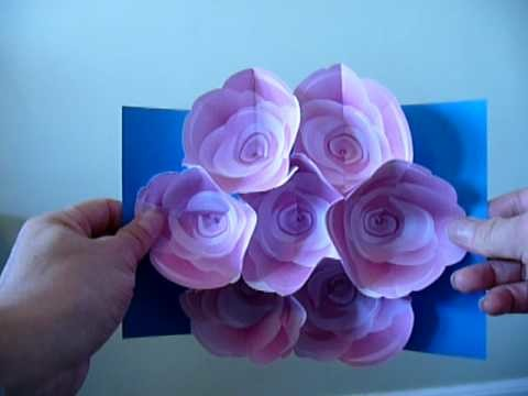 7-Flower Rose Pop-Up Bouquet