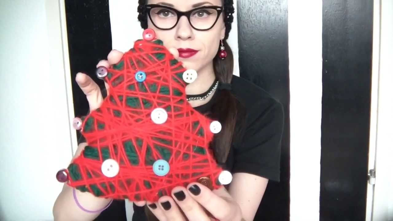 8 Versions of Christmas tree-DIY with Morticia (cheap and easy)