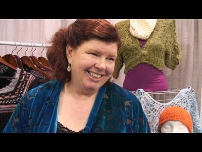 Annie Modesitt, designer and knitting teacher - lk2g-079