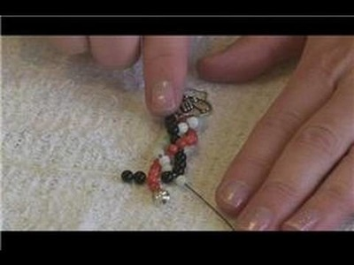 Beaded Jewelry Making : How to Make a Braided Bead Necklace