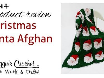 Christmas Santa Afghan PB114