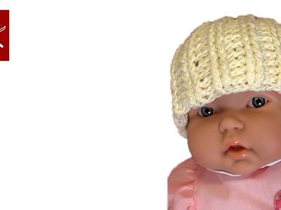 Crochet Baby Hat Post Stitch
