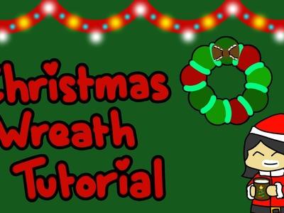 Crochet Christmas Wreath [Tutorial]