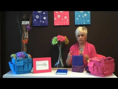 Crochet Journal Cover Tutorial with Mary Taylor