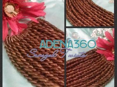 Crochet Senegalese (Rope) Twists