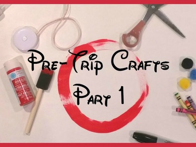 Disney Pre-Trip Crafts DIY! Guest Moms with Mouse Ears!